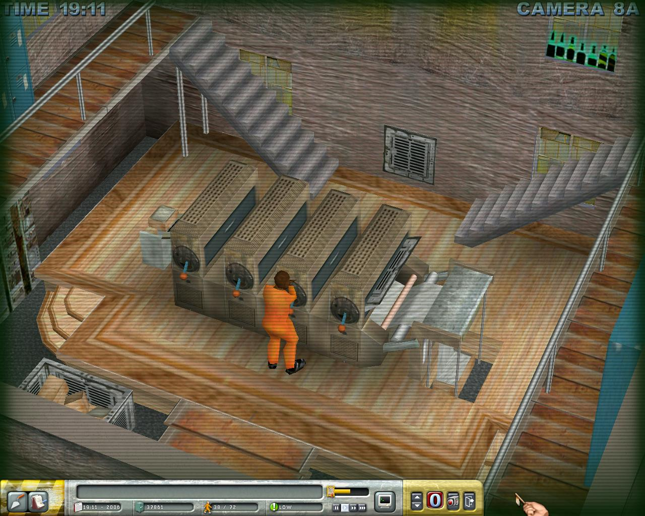 刑務所の建物だけでなく、 施設内部の設備も 刑務所を運営するっていうのはどうやるかっていうと、ま